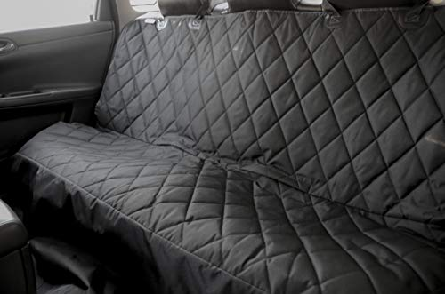 - Pet Car Seat Cover for Cars, Trucks and SUV's, Waterproof, Seat Anchors, Black and Non-Slip backing
