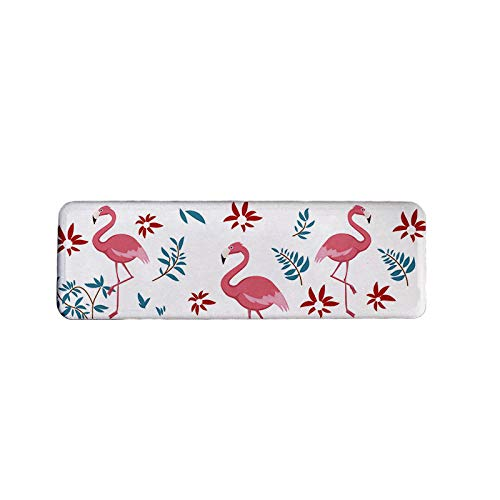 Diatomite Soap Dish - Absorbent Bathroom Toothbrush Holder for Bathroom and Kitchen - Quick Drying Cup Mat Made from Self-dry Diatomaceous Earth - Heat Resistant Anti-Slip Soap Holder - Dish Flamingo Soap