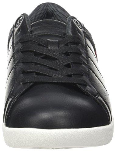 Noir Regular Black Levi's Derby Schwarz Loch Herren Sneaker xwqT7a1q