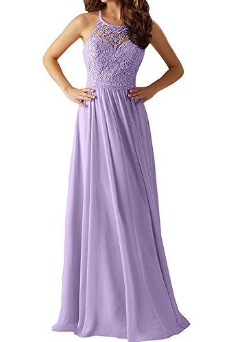 Ballkleider Jugendweihe Damen Gelb Braut La Spitze Langes mia Abendkleider Lilac Promkleider Kleider Dunkel wTqOxq4v