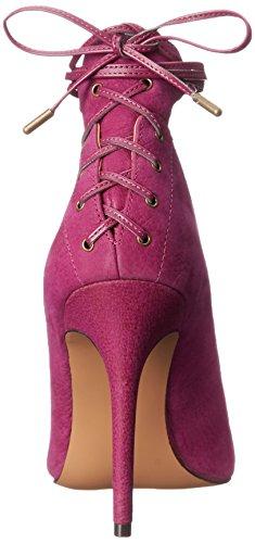 Nine West Ebba cuero de la bomba de vestir Purple/purple