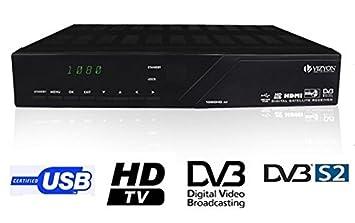 VIZYON 1020 CA HD Digital HDTV Satellite Receiver PVR USB