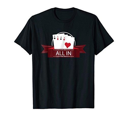 All In.. Poker, Poker Player, Gambling, Funny gift ()