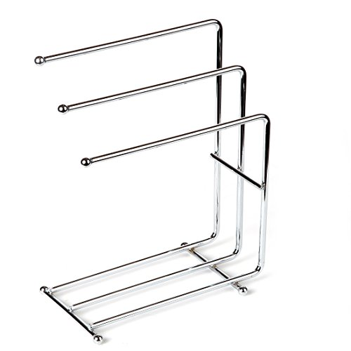 home x free standing kitchen towel rack hand towel rack chrome towels not included loved. Black Bedroom Furniture Sets. Home Design Ideas