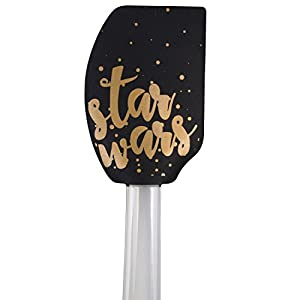 Star Wars Silicone Spatula 4-Piece Set – Cute Star Wars Designs – Cook and Bake with the Force – 11 inches