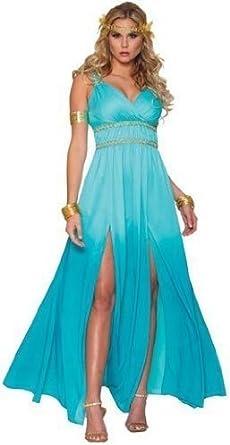 Disfraz de Khaleesi, Juego de Tronos, traje azul de princesa ...