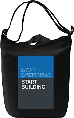 Start building Borsa Giornaliera Canvas Canvas Day Bag| 100% Premium Cotton Canvas| DTG Printing|