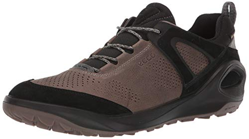 ECCO Men's Biom 2GO Gore-TEX-Waterproof, Outdoor Lifestyle, Multi-Sport, Sneaker Hiking Shoe, Black/Dark Clay, 45 M EU (11-11.5 US)