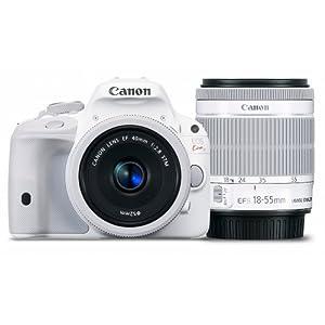 Canon デジタル一眼レフカメラ EOS Kiss X7(ホワイト) ダブルレンズキット2 KISSX7WH-WLK2