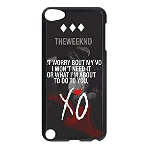 C-EUR Customized Print The Weeknd XO Pattern Hard Case for iPod Touch 5 by lolosakes