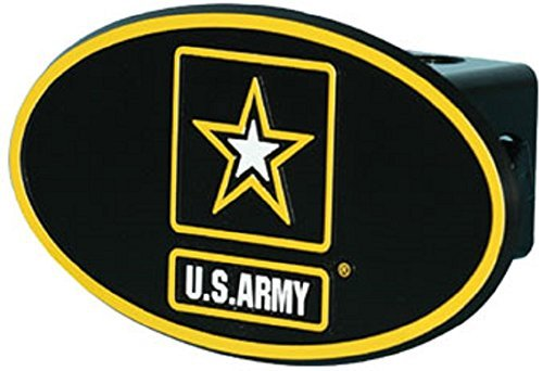 US Army Star ABS Hitch Cover with Quick Loc