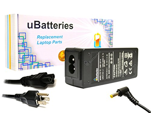 (UBatteries Compatible 10.5V 1.9A 30W Laptop AC Adapter Charger Cord Replacement For Sony VAIO SVD-11 VGN-P VPC-P VPCP VPC-X VPCX VPC-YB VPCYB Part# VGP-AC10V2 VGP-AC10V4 VGP-AC10V5 VGP-AC10V6 Series)