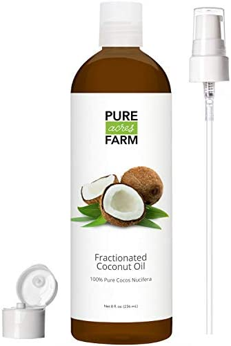 Fractionated Coconut Oil Liquid Roll