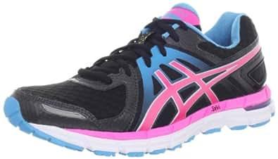 ASICS Women's GEL-Excel33 2 Running Shoe,Black/Electric Pink/Turquoise,5 M US