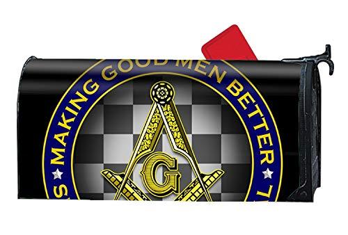 (MALBX Freemasonry Masonic Spring Mailbox Cover Inspirational Candles Standard)