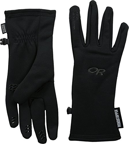 Outdoor Research Women's Backstop Sensor Gloves, Black, Large