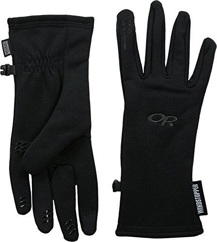 Outdoor Research Women's Backstop Sensor Gloves, Black, Large