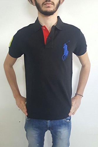 Ralph Lauren Herren Poloshirt schwarz schwarz S