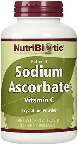 Nutribiotic Sodium Ascorbate Powder, 8 Ounce