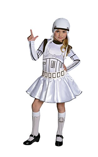 Rubie's Star Wars Storm Trooper Costume Dress, (J Fancy Dress Costumes)