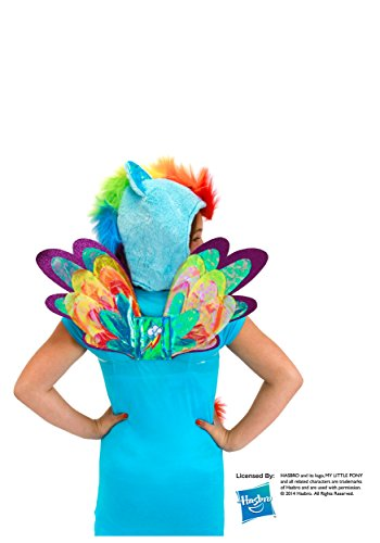 Rainbow Dash Costume Toddler (Elope My Little Pony Rainbow Dash Costume Wings)
