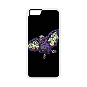 iPhone 6 Plus 5.5 Inch Cell Phone Case White Party Bat KJT Premium Cell Phone Cases