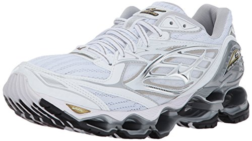 's Wave Prophecy 6 Shoes, White/Silver/Gold, 7.5 B US (Womens Prophecy Sport Shoe)