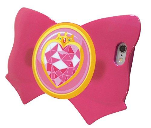 (Sailor Moon iPhone6 Case Soft TPU (Thermoplastic Polyurethane) Cover Ribbon Jacket Prism Heart Compact Prismatic Heart Compact Bandai SLM-32B)
