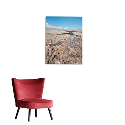 longbuyer Wall Paper Salar de Atacama The Largest Salt Flat in Chile (Desert of The Atacama Chile) – South America Mural 24'x36'