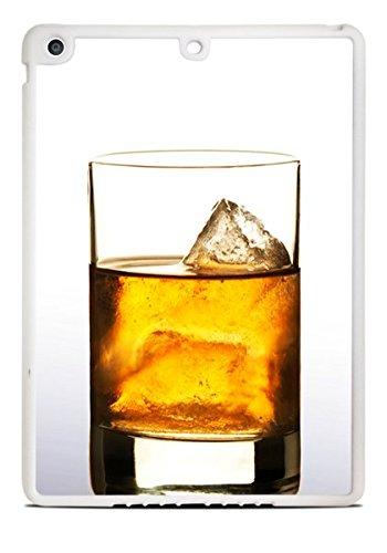 (Whiskey on the Rocks White iPad Air Silicone Case)