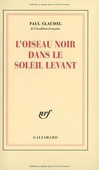 Book's Cover ofL'oiseau noir dans le soleil levant