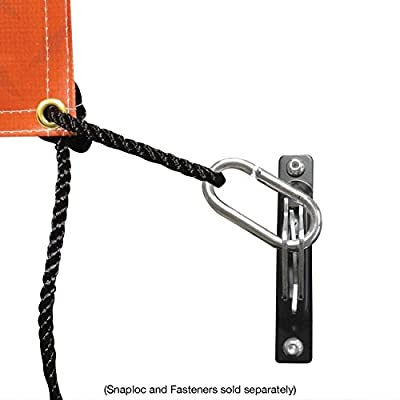 SNAPLOCS SNAP-Hook 2 Pack Connects Rope, Cabel and Hook Straps to SNAPLOCS and E-Track: Industrial & Scientific