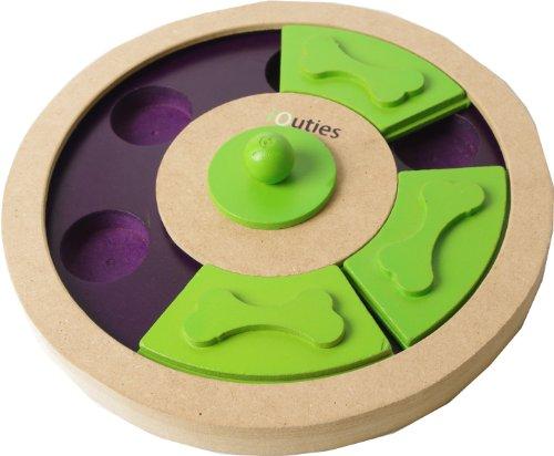 Pet Brands Iquties Treat Wheel Dog Toy 1