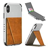 BIBERCAS Phone Card Holder with Stand,Adhesive