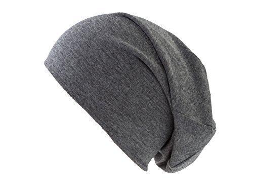 unisex punto gorro de verano Mujer de larga fina manga para de Slouches Color de de gris sobre Hombre diseño Jersey gorro Beanies 5xCtwOXq