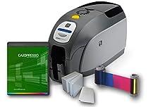 Zebra ZXP Series 3 Dual Side ID Card Printer & Supplies Package
