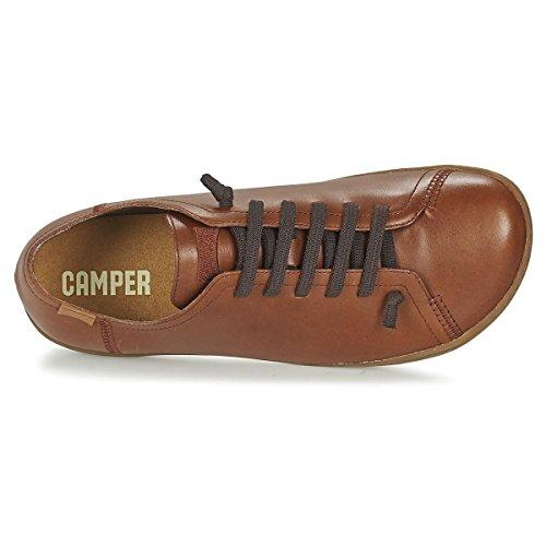CAMPER Herren Peu 17665 Cami Low-Top DALLAS COLA/CAMI MIEL