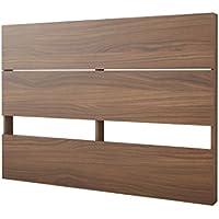 Nexera 365331 Plank Effect Headboard, Full, Walnut
