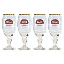 Stella Artois 4-Pack Chalice Glass, 33cl