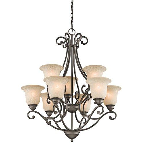 Kichler chandelier amazon kichler 43226oz nine light chandelier mozeypictures Images