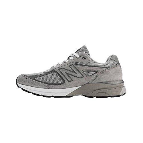 New Balance Men's M990V4 Running Shoe, Size: 8 Width: D Color: Grey