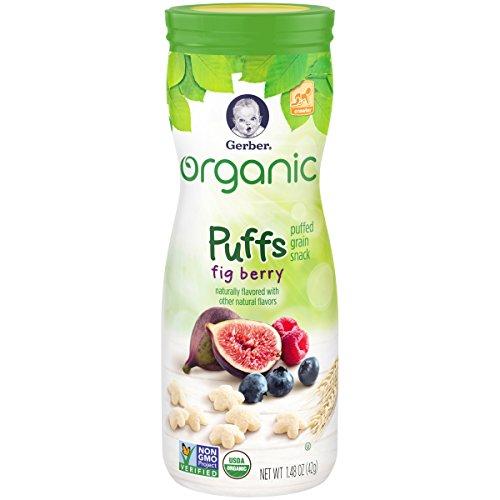 Gerber Graduates Organic Puffs