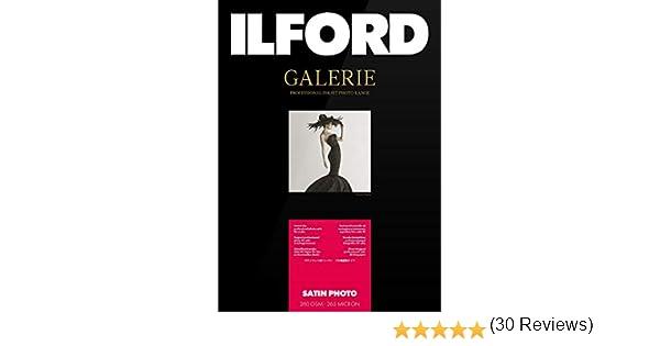 Ilford Galerie Satin Lustre, 260g, 13x18cm, 100 hojas: Amazon.es ...