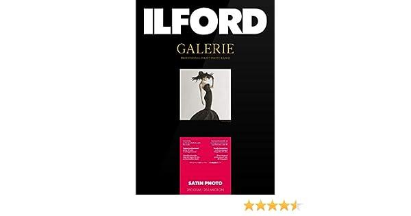 Ilford Galerie Satin Lustre 260g A3 25 hojas: Amazon.es: Oficina y ...
