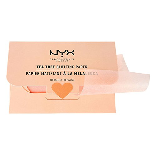 100-Count Tea Tree Blotting Papers by NYX Professional Makeup (pack of 2) by NYX Professional Makeup by ForHoME