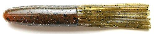 Keitech SCT425501 Salty Core Tube Green Pumpkin Crawdad, 4.25