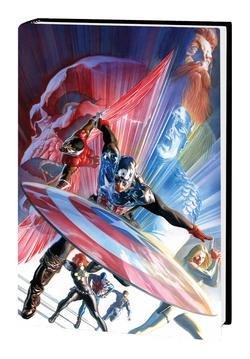 Captain America Lives Omnibus - Cover Epting