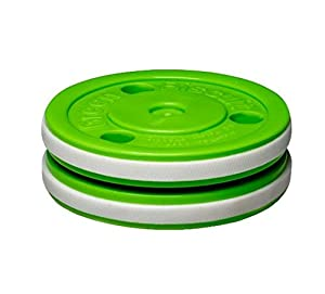 Green Biscuit PRO Trainingspuck f. Eishockey, Hockey Puck Asphalt