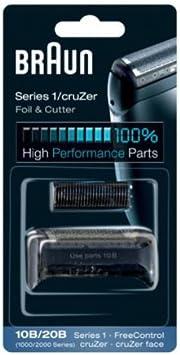 Braun - Combi-pack 10B - Láminas de recambio + portacuchillas ...