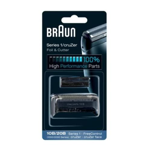 Braun - 81253241 - Combi-pack 10B - Recharge grille + couteaux pour rasoirs